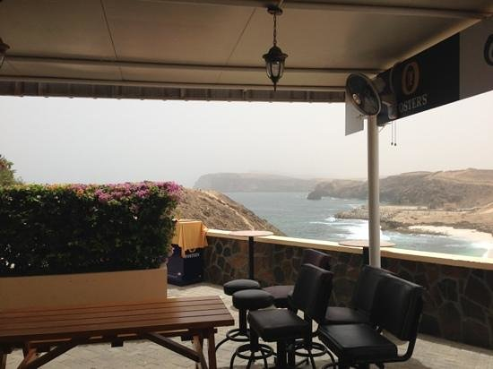 Oasis Club: what a view for lunch!