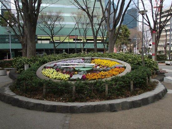 Shinjuku Chuo Park : 綺麗な花時計