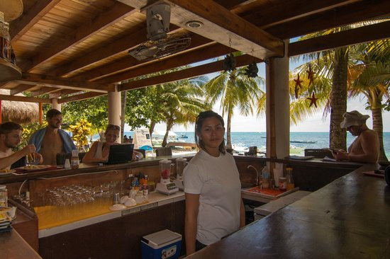 Ocean Vida Beach & Dive Resort: Beach bar