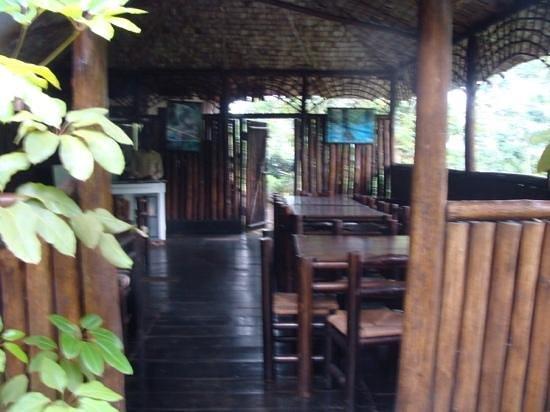 Lake Kitandara Tented Camp: the restaurant