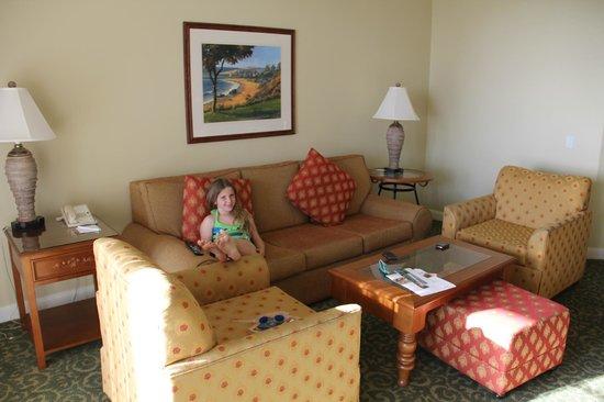 Marriott's Newport Coast Villas: Family room