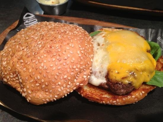 8 Cuts Burger Blends: Four Cheese Burger