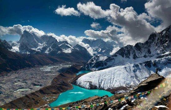 Higher Limits Trek - Day Tours: View from Gokyo Peak Everest Region Nepal