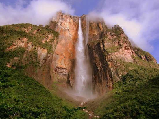 Isnt she just beautiful - Picture of Angel Falls, Canaima ...