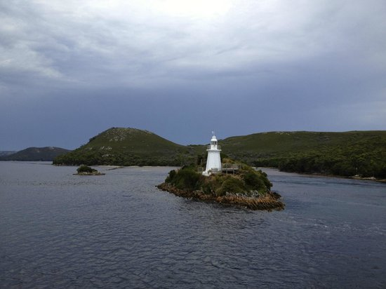 World Heritage Cruises: Lighthouse near Hells Gate