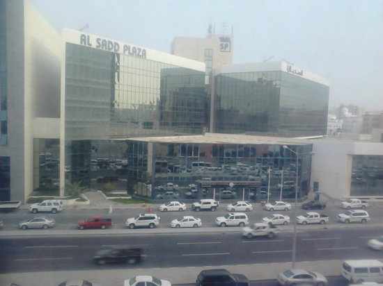 Merwebhotel Al Sadd Doha: View from room