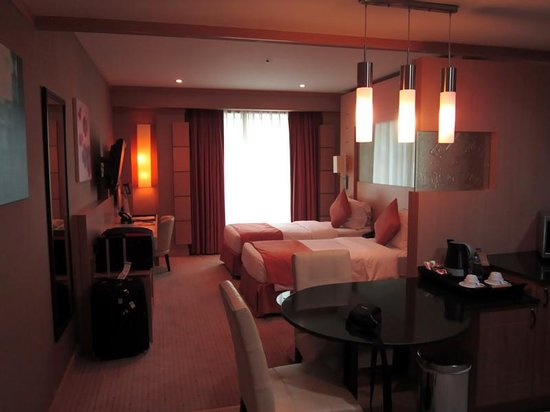 Emirates Grand Hotel: A typical double room