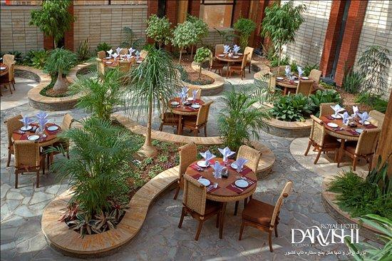 Darvishi Royal Hotel: Roof Garden