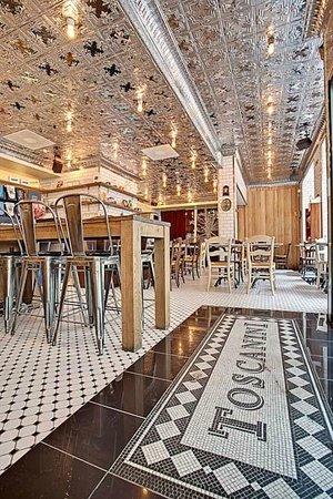 Klaus K Hotel: Restaurant Toscanini