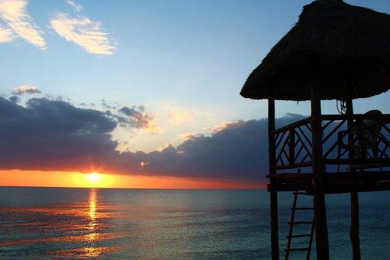 أليجرو كوزوميل ريزورت: sunset