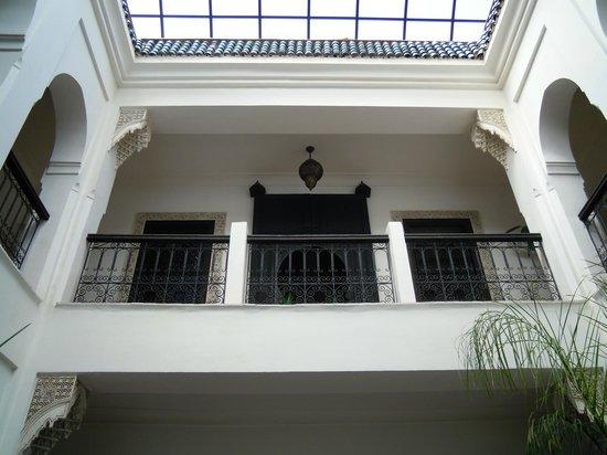 Riad Al Kadar: Le camere al primo piano