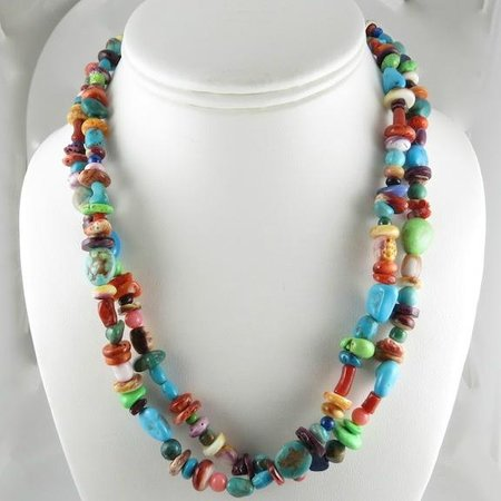 All Nations Trading: Multi colored necklace