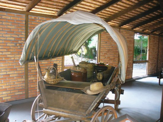 Joinville, SC: Typical carriage used by early settlers.
