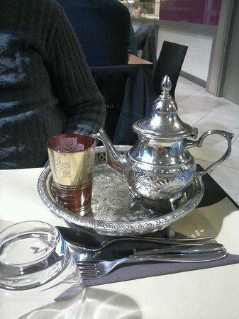 Kebaguette: tè alla menta
