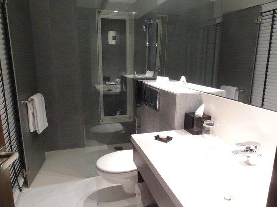 Svenska Design Hotel, Mumbai (Bombay) : Bathroom.