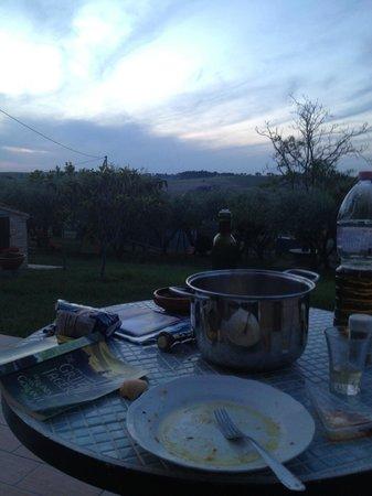 Il Giardino degli Ulivi: panorama