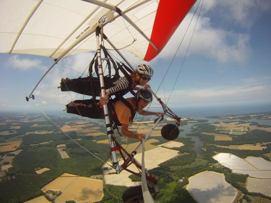Virginia Hang Gliding: The shore is just beautiful!