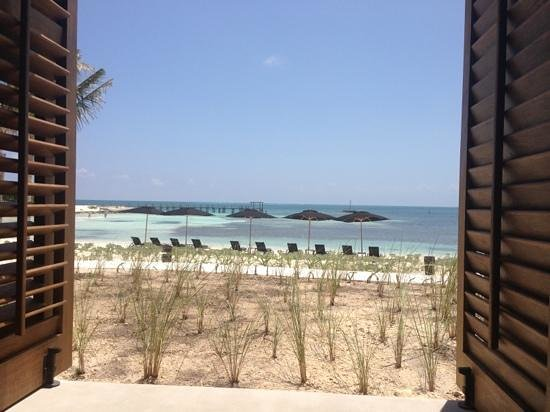 NIZUC Resort and Spa: view from Ni restaurant