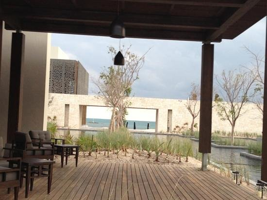 NIZUC Resort and Spa: framed vistas lead to another view