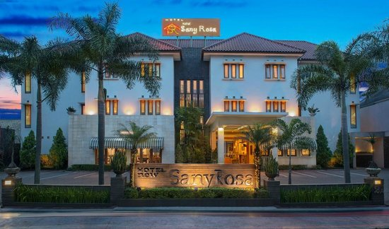 New Sany Rosa Hotel : Front Exterior