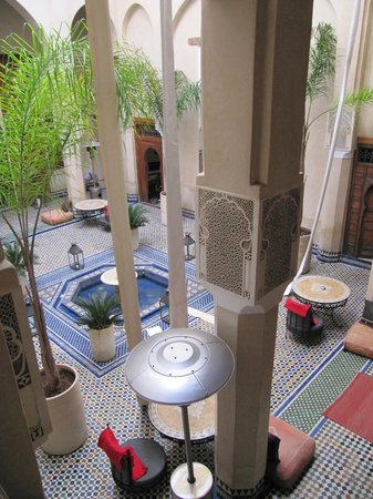 Riad Said : Courtyard