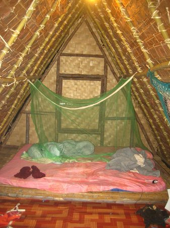 Pai Circus School Resort: bungalow nr. 6 (mosquito net not included but not needed!)