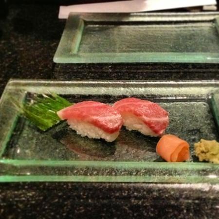 Tamarind: otoro sushi