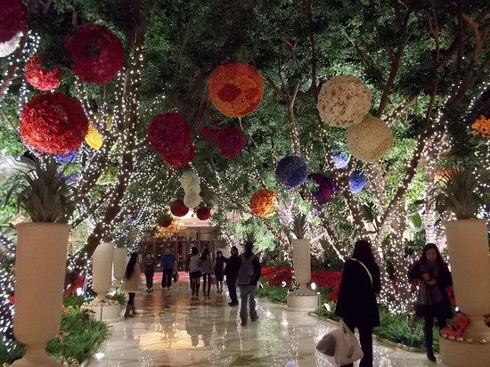 Wynn Las Vegas: decoração de natal