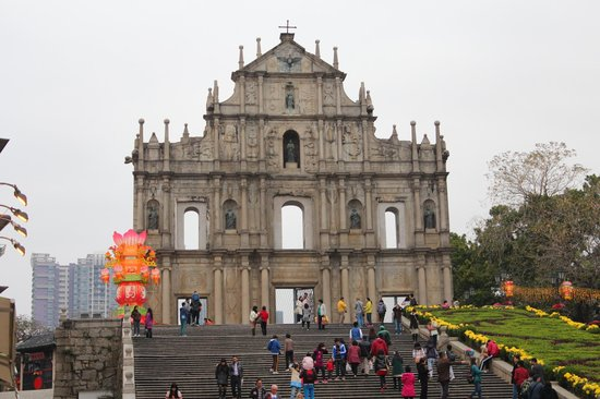 Macao Government Tourism Office: Ruins of St. Paul