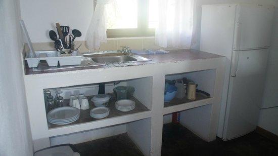 Aquatico Ocean Lodge: Cozinha