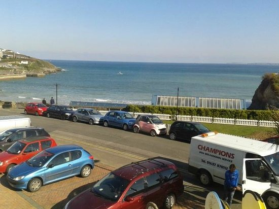 Hotel Sunnyside Newquay: Room with a view :)