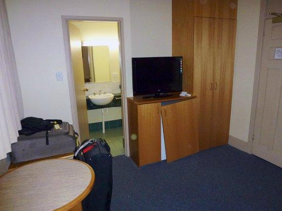 โรงแรมไครทีเรียนเพิร์ธ: Ensuite from the bedroom