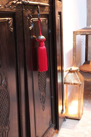 Riad Magellan Yoga: Entrance to the Red Room