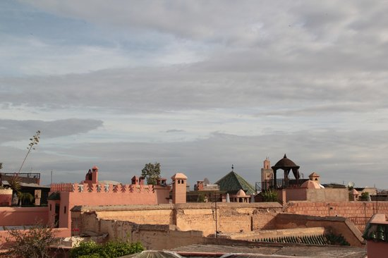 Riad Magellan Yoga: View of Marrakech