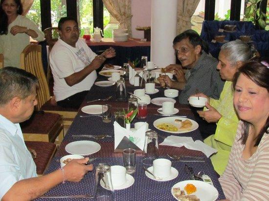 Hotel Treetop: dining hall