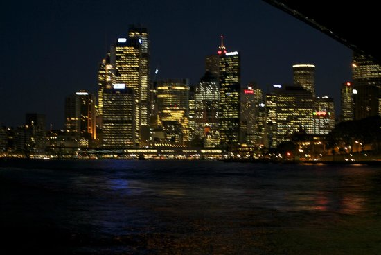 Sydney Harbour: harbour by night