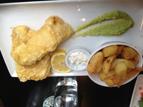 Source Sligo Restaurant: Cod and chips