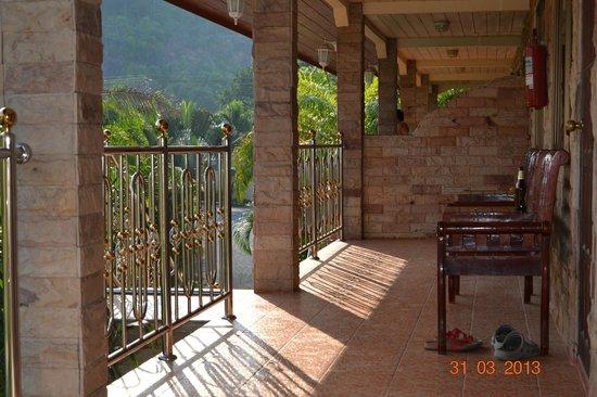 Sofia Garden Resort: Террасса