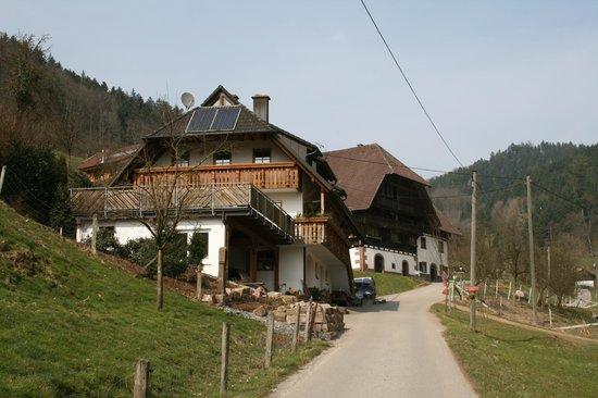 Ferienwohnung Eisenmann: The Farmhouse and Barn
