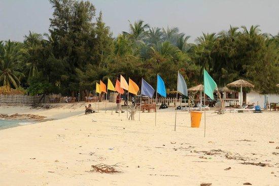 Lakshadweep Homestay Kasim K: The beach side shop in Agatti