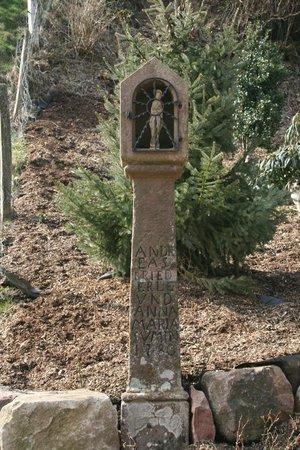 Ferienwohnung Eisenmann: Roadside Shrine dated 1804