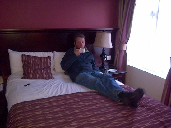 The Connaught Lodge : Comfy bed!