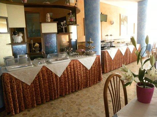 Albergo Panoramica: colazione a buffet