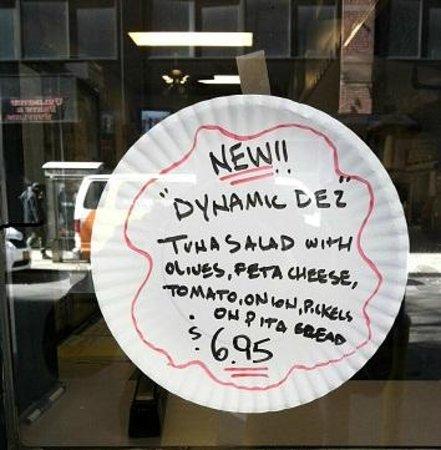Johny's Luncheonette : new sandwich!
