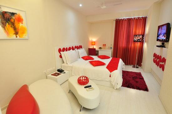 Vijay Park inn: Overview of a Deluxe room