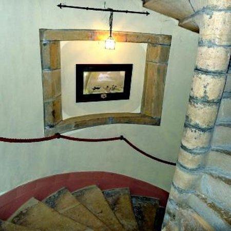 Chateau de la Vénerie : Escalier