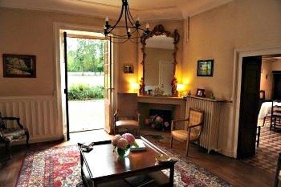 Chateau de la Vénerie : Salon
