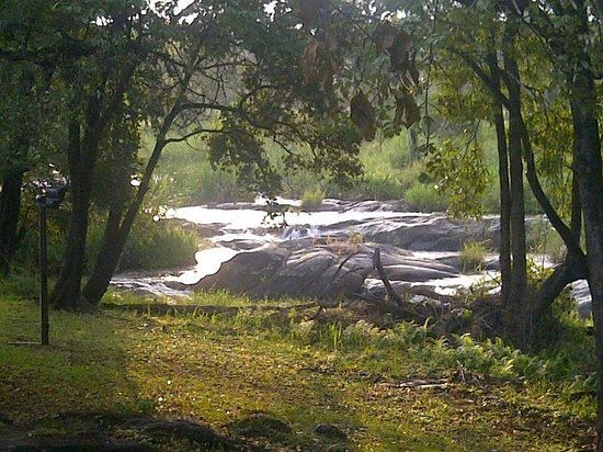 Kruger Park Lodge: View from River Units