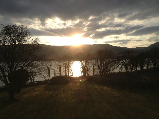 Knockderry House Hotel: Loch Long From Knockderry House
