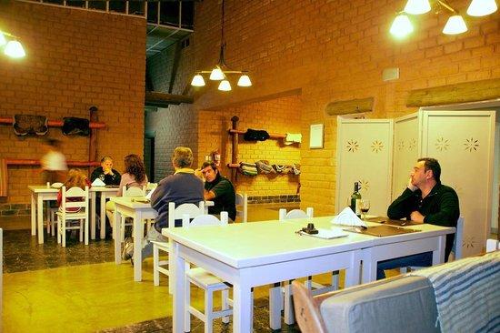 Hosteria De Altura El Penon: El lobby-comedor